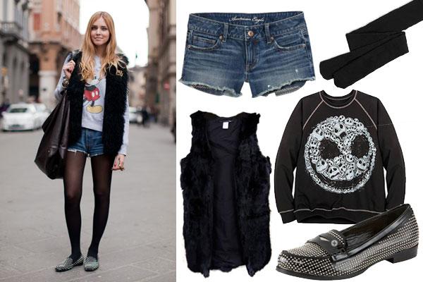 Описание: джинсовые шорты зимой (18 фото) Модные.