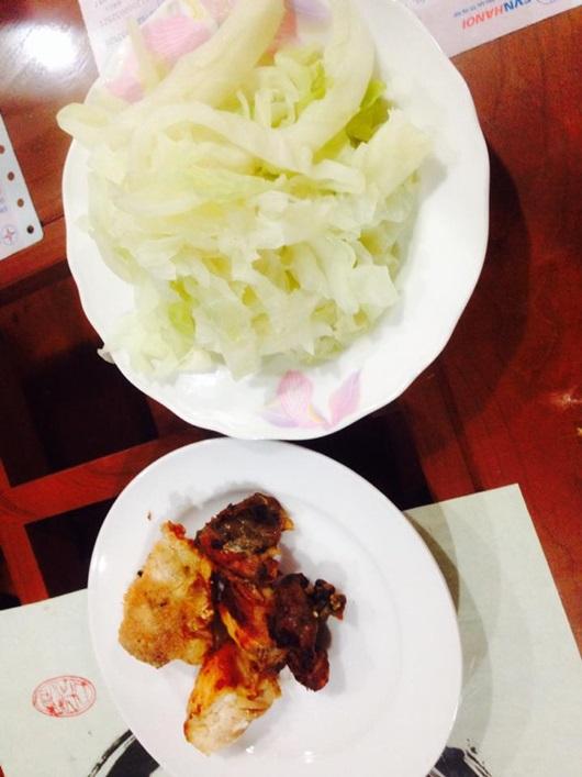 đồ ăn lowcarb Bảo Trâm Idol