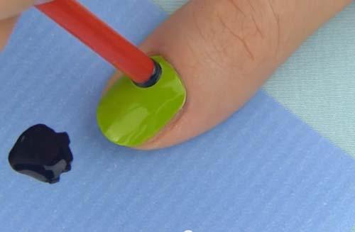bộ móng,ống hút, nail, mùa hè