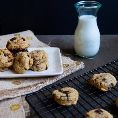 Bánh quy chuối dừa và chocolate chip