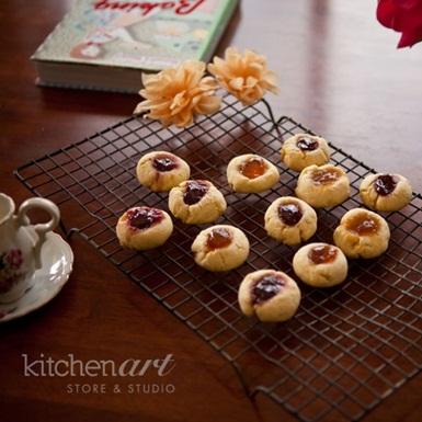 Bánh quy nhân mứt Thumbprint cookies
