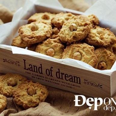 Cookies hạt dẻ thơm giòn
