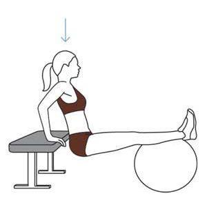 Bài tập pilates với bóng thăng bằng cho một cơ thể khỏe đẹp