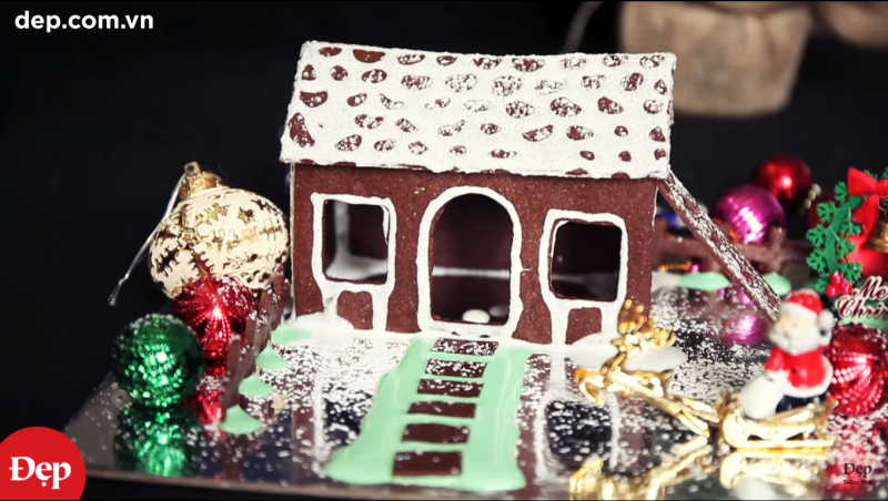 Bánh nhà gừng (Gingerbread house – Christmas Cake Recipe)