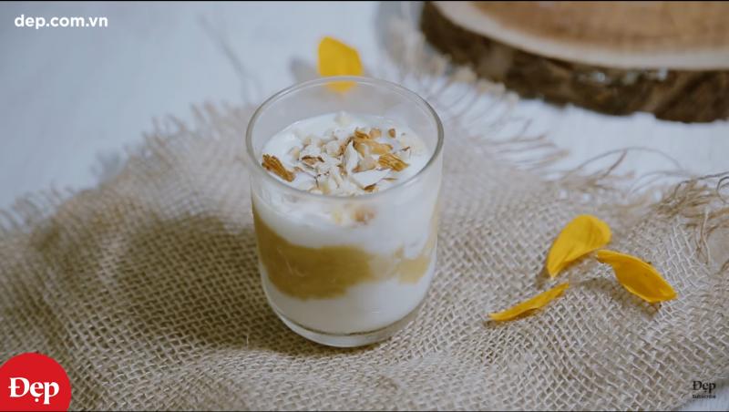Kem chuối sữa chua – món tráng miệng dinh dưỡng cho bé