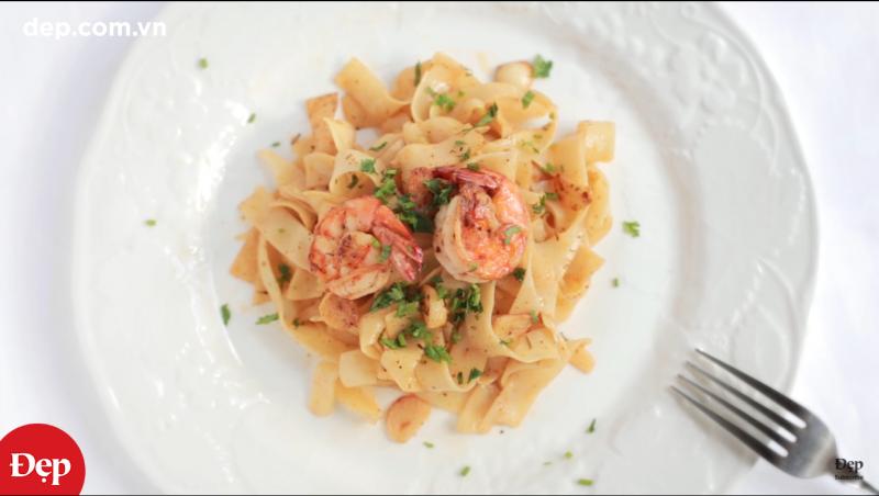 Mỳ Ý Fettucine cho bữa tối lãng mạn