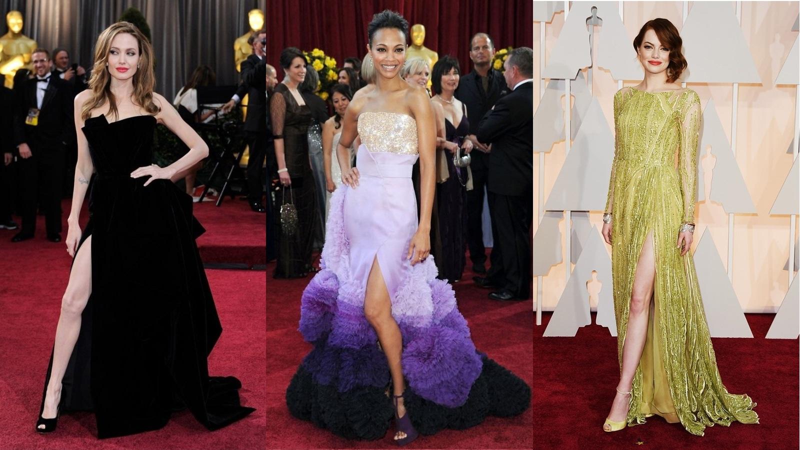 """20 bộ váy đẹp nhất """"khuynh đảo"""" thảm đỏ các kỳ Oscar"""