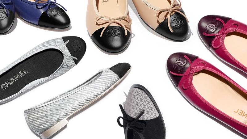 Giày Ballerina – Biểu tượng mới của Chanel