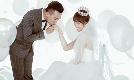 Bộ hình cưới đáng yêu lần đầu hé lộ của Trấn Thành và Hari