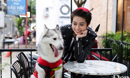 Mocha: Cô cún đáng yêu nhà Gil Lê