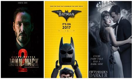 The Lego Batman Movie thống trị phòng vé Bắc Mỹ tuần qua