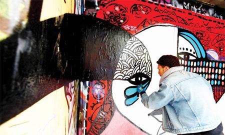 Nghệ thuật graffiti tạo nên bữa tiệc thị giác ở Melbourne