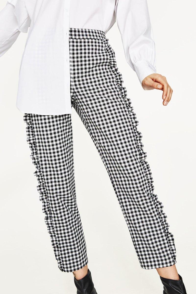 Gợi ý từ Đẹp Online: Zara Gingham Trousers
