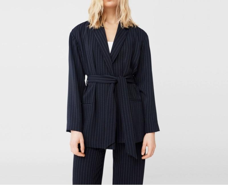 Gợi ý từ Đẹp Online: Mango Pinstripe Suit Blazer
