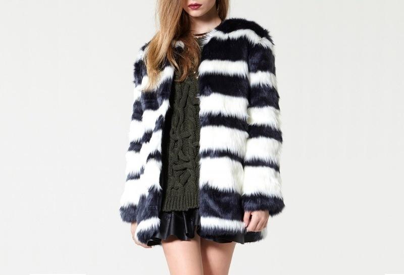Gợi ý từ Đẹp Online: Storets Rough Ride Faux Fur Coat