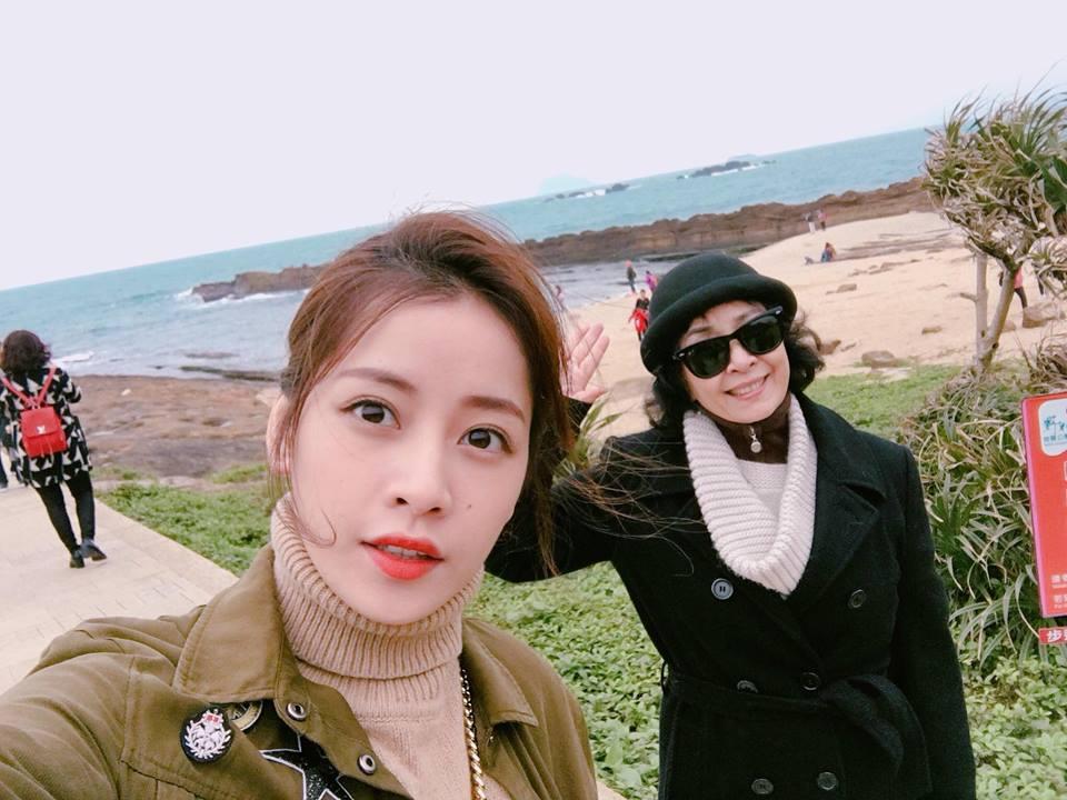 Chi Pu và mẹ trong chuyến du lịch tại Đài Loan
