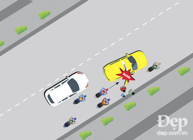 Mở cửa xe gây tai nạn bị tội gì?