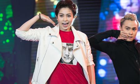 """""""Soái ca"""" Gil Lê khoe vũ đạo cuồng nhiệt trong chương trình Âm nhạc & Bước nhảy"""