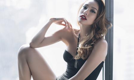 """Lilly Nguyễn """"nổi loạn"""" trong bộ hình """"Valentine trắng"""""""