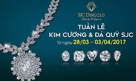 SJC tổ chức tuần lễ Kim cương và Đá quý