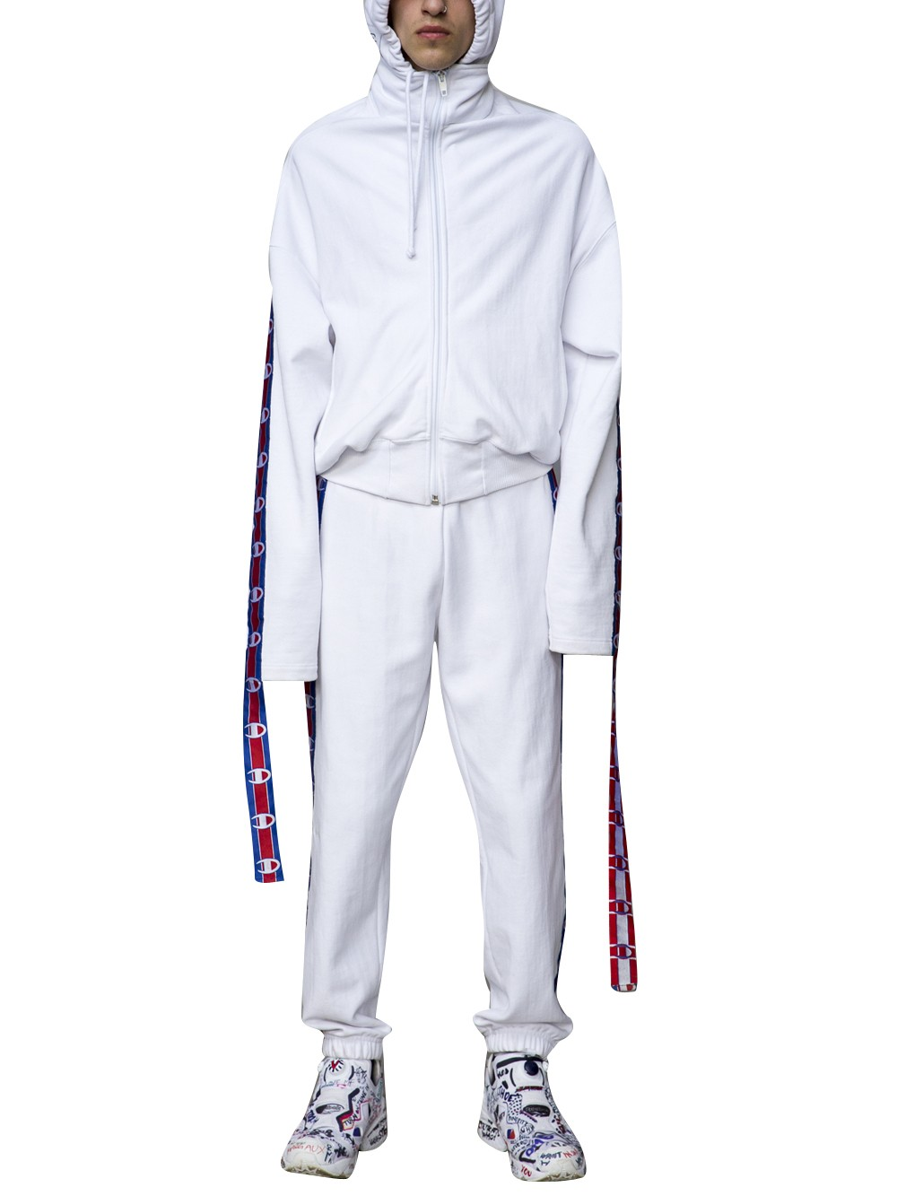 vetements-x-champion-extra-long-sleeve-zip-hoodie