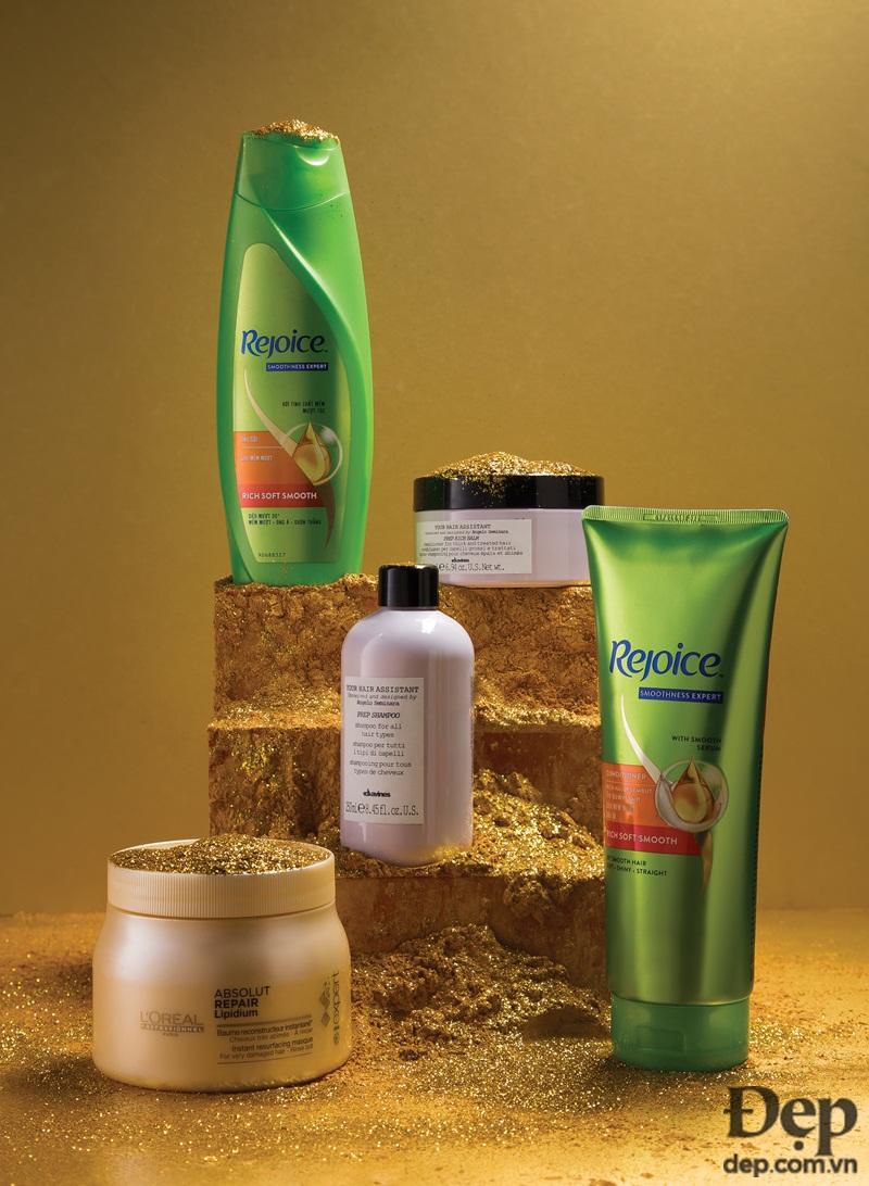 Từ các sản phẩm chăm sóc tóc cơ bản...