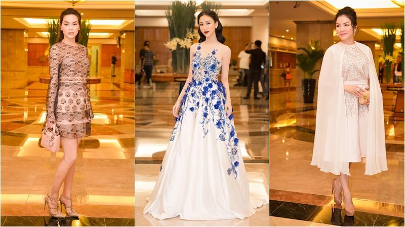 Hồ Ngọc Hà thanh lịch, Lý Nhã Kỳ quý phái cùng dàn mỹ nhân Việt đọ sắc ở sự kiện