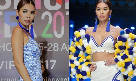 Siêu mẫu Hà Anh nóng bỏng trên sàn diễn thời trang Xuân – Hè 2017