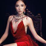 """Sau thời gian """"trốn"""" khỏi showbiz, Hoa hậu Kỳ Duyên trở thành nàng thơ của NTK Đỗ Long"""