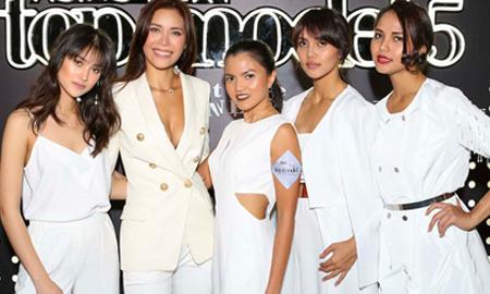 Minh Tú xuất hiện cực kỳ ấn tượng tại tiệc ra mắt Asia's Next Top Model 5