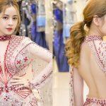 Chi Pu cực quyến rũ trong trang phục đính nghìn viên pha lê của NTK Đỗ Long