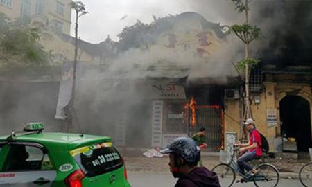 Hỏa hoạn thiêu rụi nhà con trai cố nhạc sỹ Văn Cao