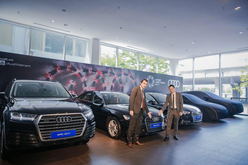 Audi bàn giao 131 xe phục vụ APEC 2017