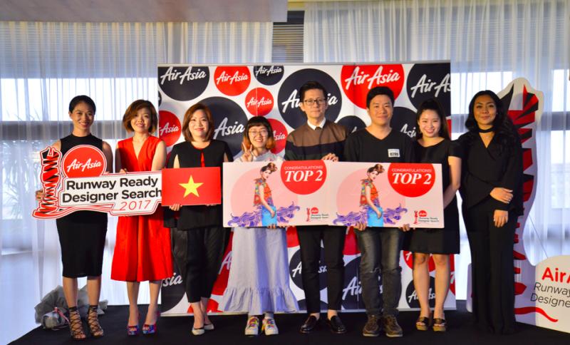 """""""Tìm Kiếm Tài Năng Thiết Kế AirAsia 2017"""" đã tìm được 2 đại diện của Việt Nam"""
