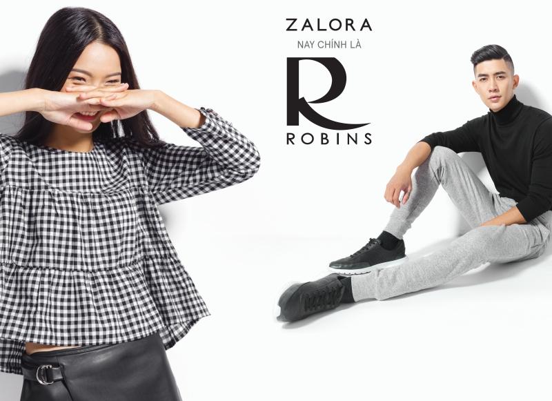 ZALORA hợp nhất cùng ROBINS