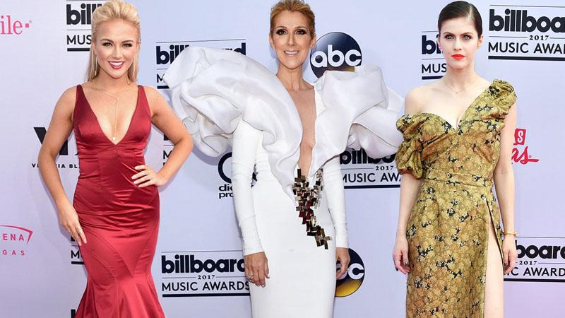 Céline Dion tỏa sáng ở tuổi 49 trên thảm đỏ Billboard Music Awards 2017