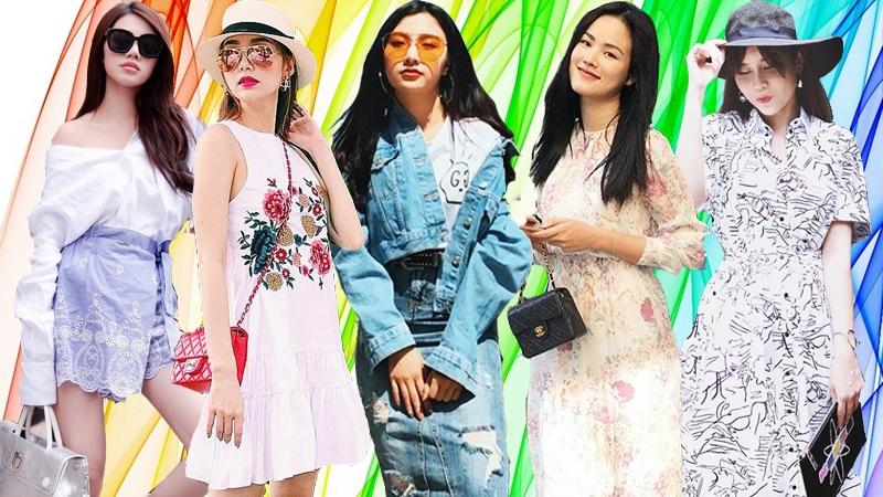 Minh Hằng, Lưu Hương Giang và loạt sao Việt lăng xê váy áo bay bổng ngày nóng