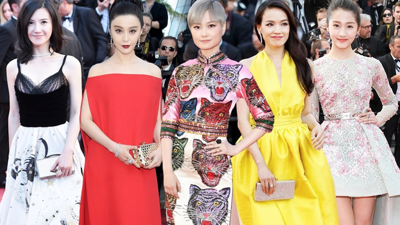 """Phạm Băng Băng, Lý Vũ Xuân và dàn mỹ nhân Hoa Ngữ """"khuynh đảo"""" thảm đỏ LHP Cannes 2017"""