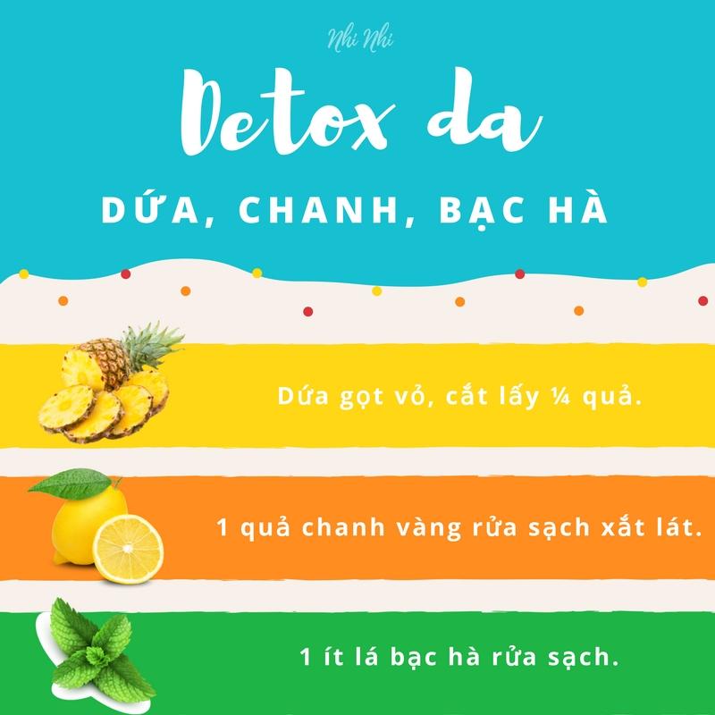 giai-nhiet-va-thanh-loc-lan-da-trong-mua-he-voi-4-loai-thuc-uong-detox-de-lam