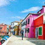 "Hòn đảo ""bảy sắc cầu vồng"" Burano ở Italy"