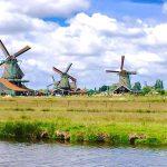 Khám phá ngôi làng cối xay gió độc nhất thế giới ở Hà Lan
