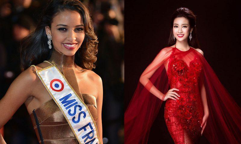 Hoa hậu Pháp và Hoa hậu Mỹ Linh làm vedette show Hoàng Hải
