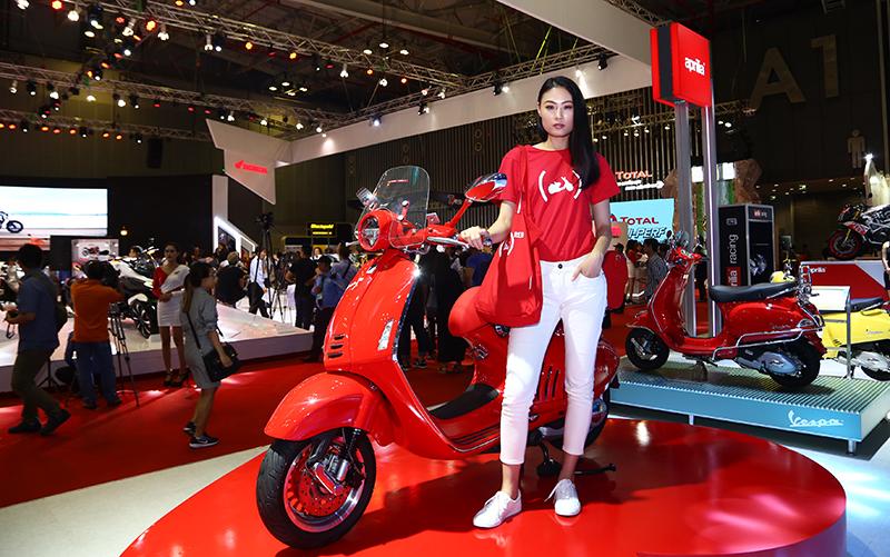 Mở màn Triển lãm Mô tô xe máy lớn nhất Việt Nam