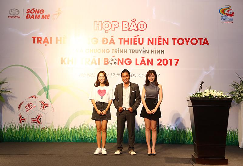 Toyota khởi động Trại hè bóng đá thiếu niên 2017
