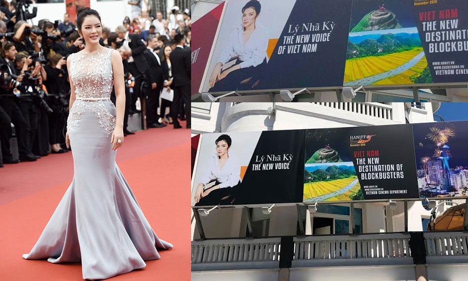 Công ty tổ chức sự kiện tại Cannes lên tiếng về poster Lý Nhã Kỳ