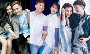 Mặc đồ đôi chất như các cặp đôi của showbiz Việt