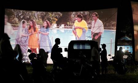 Chiếu bóng di động lưu giữ điện ảnh xưa cũ tại Indonesia
