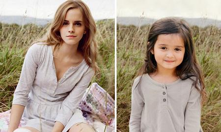 Cô bé 3 tuổi gây sốt với bộ ảnh tái hiện nhiều người nổi tiếng