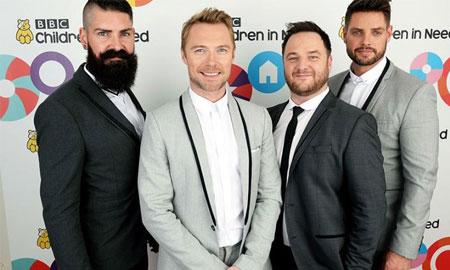 Nhóm nhạc nổi tiếng Boyzone tái hợp nhân kỷ niệm 25 năm thành lập