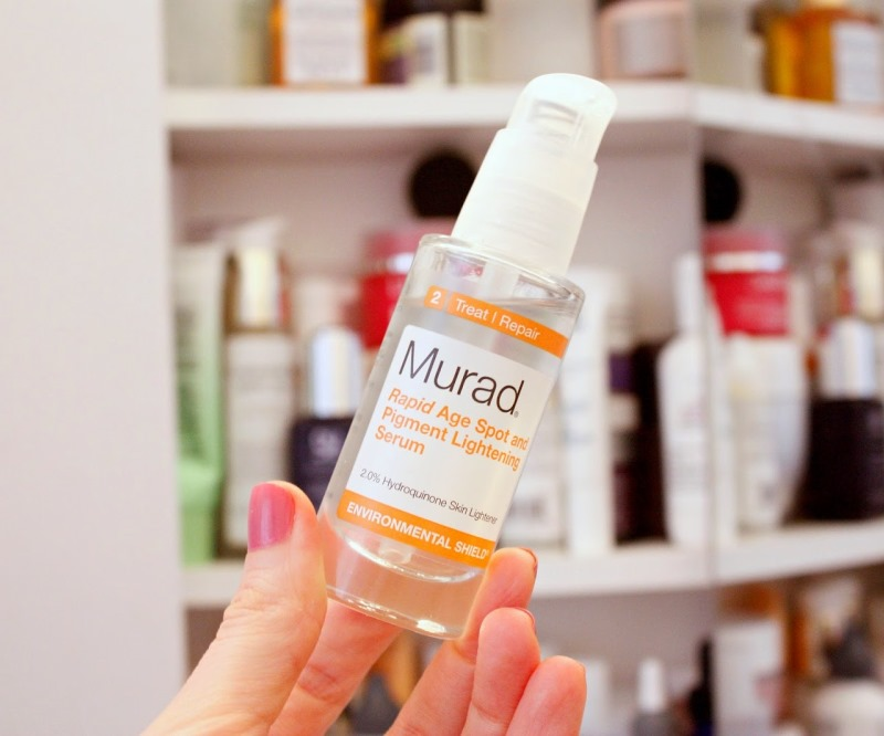 Murad Rapid Age Spot And Pigment Lightening Serum chứa 2% Hydroquinone (Giá: US$ 65)